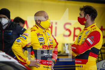 10/10/2020 - Coronel Tom (ned), Comtoyou DHL Team Audi Sport, Audi LMS, Berthon Nathanael (fra), Comtoyou DHL Team Audi Sport, Audi LMS, portrait during the 2020 FIA WTCR Race of Slovakia, 3rd round of the 2020 FIA World Touring Car Cup, on the Automotodrom Slovakia Ring, from October 9 to 11, 2020 in Orechova Poton, Slovakia - Photo Florent Gooden / DPPI - 2020 FIA WTCR RACE OF SLOVAKIA, 3RD ROUND OF THE WORLD TOURING CAR CUP - TURISMO E GRAN TURISMO - MOTORI