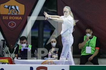 05/02/2021 - referee match - SIS ROMA VS OLYMPIAKOS SF PIRAEUS - EURO LEAGUE WOMEN - PALLANUOTO