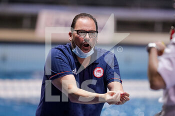 05/02/2021 - head coach C. Pavlidis (Olympiacos Piraeus) - SIS ROMA VS OLYMPIAKOS SF PIRAEUS - EURO LEAGUE WOMEN - PALLANUOTO