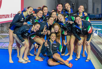 PALLANUOTO - NAZIONALI ITALIANE - Italia vs Olanda FINA Women´s Water Polo World League 2019 European Preliminaries