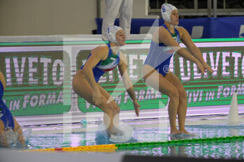 22/01/2021 - Italian team - WOMEN'S WATERPOLO OLYMPIC GAME QUALIFICATION TOURNAMENT 2021 - ITALY VS ISRAEL - TORNEO OLIMPICO - PALLANUOTO