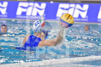 22/01/2021 - 11 CHIAPPINI Izabella [ROLE: Wing] (Italy) - WOMEN'S WATERPOLO OLYMPIC GAME QUALIFICATION TOURNAMENT 2021 - ITALY VS ISRAEL - TORNEO OLIMPICO - PALLANUOTO