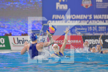 22/01/2021 - 4 BOGACHENKO Maria [ROLE: Wing] (Israel)  - WOMEN'S WATERPOLO OLYMPIC GAME QUALIFICATION TOURNAMENT 2021 - ITALY VS ISRAEL - TORNEO OLIMPICO - PALLANUOTO