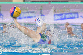 22/01/2021 - 5 QUEIROLO Elisa [ROLE: Wing] (Italy)  - WOMEN'S WATERPOLO OLYMPIC GAME QUALIFICATION TOURNAMENT 2021 - ITALY VS ISRAEL - TORNEO OLIMPICO - PALLANUOTO