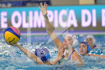 22/01/2021 - 9 TAL Eden [ROLE: Wing] (Israel) vs 11 CHIAPPINI Izabella [ROLE: Wing] (Italy)  - WOMEN'S WATERPOLO OLYMPIC GAME QUALIFICATION TOURNAMENT 2021 - ITALY VS ISRAEL - TORNEO OLIMPICO - PALLANUOTO