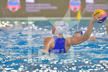22/01/2021 - 7 MARLETTA Claudia Roberta [ROLE: Wing] (Italy)  - WOMEN'S WATERPOLO OLYMPIC GAME QUALIFICATION TOURNAMENT 2021 - ITALY VS ISRAEL - TORNEO OLIMPICO - PALLANUOTO