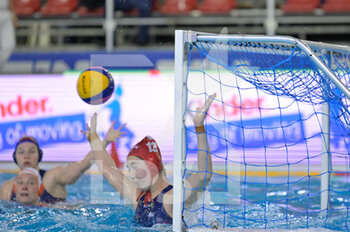 24/01/2021 - 13 MAGYARI Alda [ROLE: Goalkeeper] (Hungary)  - WOMEN'S WATERPOLO OLYMPIC GAME QUALIFICATION TOURNAMENT 2021 - NETHERLANDS VS HUNGARY - TORNEO OLIMPICO - PALLANUOTO