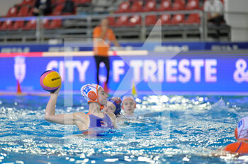 24/01/2021 -  12 SLEEKING Brigitte [ROLE: Wing] (Netherlands)  - WOMEN'S WATERPOLO OLYMPIC GAME QUALIFICATION TOURNAMENT 2021 - NETHERLANDS VS HUNGARY - TORNEO OLIMPICO - PALLANUOTO