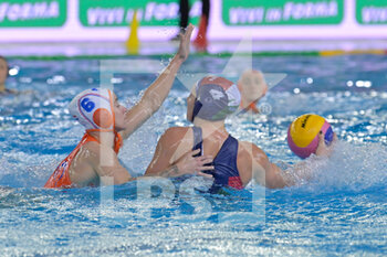 24/01/2021 - 4 GURISATTI Greta [ROLE: Field Player] (Hungary)  - WOMEN'S WATERPOLO OLYMPIC GAME QUALIFICATION TOURNAMENT 2021 - NETHERLANDS VS HUNGARY - TORNEO OLIMPICO - PALLANUOTO