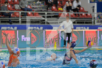 24/01/2021 - 8 KESZTHELYI Rita [ROLE: All-Round] (Hungary)  - WOMEN'S WATERPOLO OLYMPIC GAME QUALIFICATION TOURNAMENT 2021 - NETHERLANDS VS HUNGARY - TORNEO OLIMPICO - PALLANUOTO