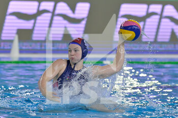24/01/2021 - 9 LEIMETER Dora [ROLE: Field Player] (Hungary)  - WOMEN'S WATERPOLO OLYMPIC GAME QUALIFICATION TOURNAMENT 2021 - NETHERLANDS VS HUNGARY - TORNEO OLIMPICO - PALLANUOTO