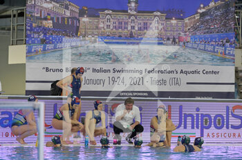 24/01/2021 - BIRO Attila [ROLE: Team Head Coach] (Hungary)	  - WOMEN'S WATERPOLO OLYMPIC GAME QUALIFICATION TOURNAMENT 2021 - NETHERLANDS VS HUNGARY - TORNEO OLIMPICO - PALLANUOTO