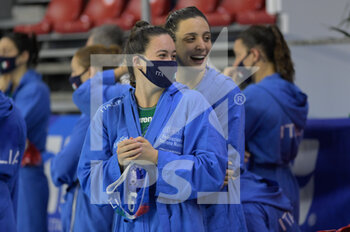 24/01/2021 - Italian Team - WOMEN'S WATERPOLO OLYMPIC GAME QUALIFICATION TOURNAMENT 2021 - ITALY VS GREECE - TORNEO OLIMPICO - PALLANUOTO