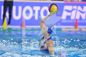 24/01/2021 - 2 TABANI Chiara [ROLE: Defender] (Italy)  - WOMEN'S WATERPOLO OLYMPIC GAME QUALIFICATION TOURNAMENT 2021 - ITALY VS GREECE - TORNEO OLIMPICO - PALLANUOTO