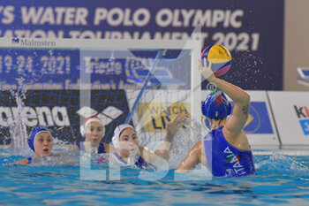 24/01/2021 - 4 AVEGNO Silvia [ROLE: Wing] (Italy)  - WOMEN'S WATERPOLO OLYMPIC GAME QUALIFICATION TOURNAMENT 2021 - ITALY VS GREECE - TORNEO OLIMPICO - PALLANUOTO