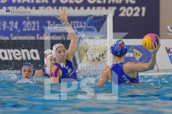 24/01/2021 - 11 CHIAPPINI Izabella [ROLE: Wing] (Italy)  - WOMEN'S WATERPOLO OLYMPIC GAME QUALIFICATION TOURNAMENT 2021 - ITALY VS GREECE - TORNEO OLIMPICO - PALLANUOTO