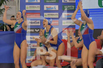 24/01/2021 - Italy esultato - WOMEN'S WATERPOLO OLYMPIC GAME QUALIFICATION TOURNAMENT 2021 - ITALY VS GREECE - TORNEO OLIMPICO - PALLANUOTO