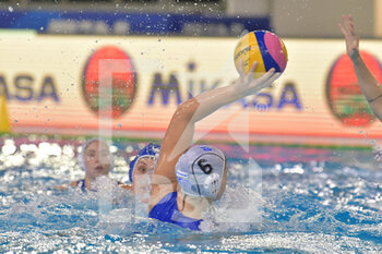 24/01/2021 -  6 XENAKI Eleni	Centre Forward] [ROLE: (Greece)  - WOMEN'S WATERPOLO OLYMPIC GAME QUALIFICATION TOURNAMENT 2021 - ITALY VS GREECE - TORNEO OLIMPICO - PALLANUOTO