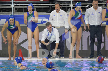 24/01/2021 - ZIZZA Paolo [ROLE: Team Head Coach] (Italy)   - WOMEN'S WATERPOLO OLYMPIC GAME QUALIFICATION TOURNAMENT 2021 - ITALY VS GREECE - TORNEO OLIMPICO - PALLANUOTO