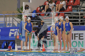 24/01/2021 - LORANTOS Theodoros [ROLE: Team Head Coach] (Greece)  - WOMEN'S WATERPOLO OLYMPIC GAME QUALIFICATION TOURNAMENT 2021 - ITALY VS GREECE - TORNEO OLIMPICO - PALLANUOTO