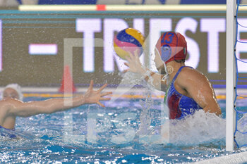 24/01/2021 - 13 SPARANO Fabiana [ROLE: Goalkeeper] (Italy)  - WOMEN'S WATERPOLO OLYMPIC GAME QUALIFICATION TOURNAMENT 2021 - ITALY VS GREECE - TORNEO OLIMPICO - PALLANUOTO