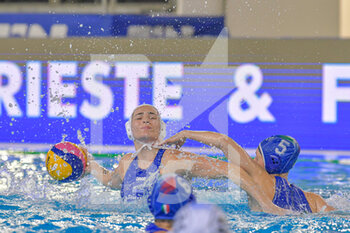 24/01/2021 - 5 QUEIROLO Elisa [ROLE: Wing] (Italy) - WOMEN'S WATERPOLO OLYMPIC GAME QUALIFICATION TOURNAMENT 2021 - ITALY VS GREECE - TORNEO OLIMPICO - PALLANUOTO