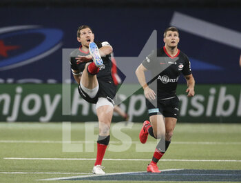 26/09/2020 - Alex Goode, Richard Wigglesworth of Saracens during the Champions Cup, semi-final rugby union match between Racing 92 and Saracens on September 26, 2020 at Paris La Defense Arena in Nanterre near Paris, France - Photo Juan Soliz / DPPI - SEMI-FINAL - RACING 92 VS SARACENS - HEINEKEN CHAMPIONS CUP - RUGBY