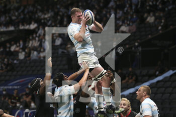 26/09/2020 - Donnacha Ryan of Racing 92 during the Champions Cup, semi-final rugby union match between Racing 92 and Saracens on September 26, 2020 at Paris La Defense Arena in Nanterre near Paris, France - Photo Juan Soliz / DPPI - SEMI-FINAL - RACING 92 VS SARACENS - HEINEKEN CHAMPIONS CUP - RUGBY