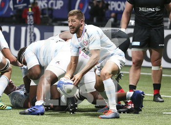 26/09/2020 - Teddy Iribaren of Racing 92 during the Champions Cup, semi-final rugby union match between Racing 92 and Saracens on September 26, 2020 at Paris La Defense Arena in Nanterre near Paris, France - Photo Juan Soliz / DPPI - SEMI-FINAL - RACING 92 VS SARACENS - HEINEKEN CHAMPIONS CUP - RUGBY