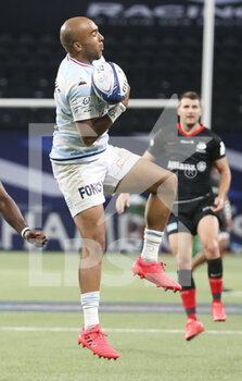26/09/2020 - Simon Zebo of Racing 92 during the Champions Cup, semi-final rugby union match between Racing 92 and Saracens on September 26, 2020 at Paris La Defense Arena in Nanterre near Paris, France - Photo Juan Soliz / DPPI - SEMI-FINAL - RACING 92 VS SARACENS - HEINEKEN CHAMPIONS CUP - RUGBY