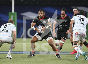 26/09/2020 - Billy Vunipola of Saracens during the Champions Cup, semi-final rugby union match between Racing 92 and Saracens on September 26, 2020 at Paris La Defense Arena in Nanterre near Paris, France - Photo Juan Soliz / DPPI - SEMI-FINAL - RACING 92 VS SARACENS - HEINEKEN CHAMPIONS CUP - RUGBY
