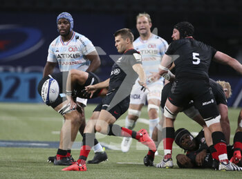 26/09/2020 - Richard Wigglesworth of Saracens during the Champions Cup, semi-final rugby union match between Racing 92 and Saracens on September 26, 2020 at Paris La Defense Arena in Nanterre near Paris, France - Photo Juan Soliz / DPPI - SEMI-FINAL - RACING 92 VS SARACENS - HEINEKEN CHAMPIONS CUP - RUGBY