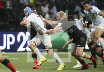 26/09/2020 - Wenceslas Lauret of Racing 92, Vincent Koch of Saracens during the Champions Cup, semi-final rugby union match between Racing 92 and Saracens on September 26, 2020 at Paris La Defense Arena in Nanterre near Paris, France - Photo Juan Soliz / DPPI - SEMI-FINAL - RACING 92 VS SARACENS - HEINEKEN CHAMPIONS CUP - RUGBY