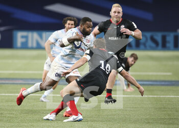 26/09/2020 - Virimi Vakatawa of Racing 92 during the Champions Cup, semi-final rugby union match between Racing 92 and Saracens on September 26, 2020 at Paris La Defense Arena in Nanterre near Paris, France - Photo Juan Soliz / DPPI - SEMI-FINAL - RACING 92 VS SARACENS - HEINEKEN CHAMPIONS CUP - RUGBY