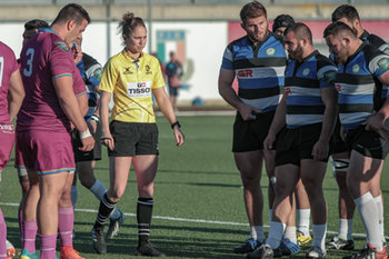 08/12/2018 - l'arbitro Cox (ENG) - FF.OO. RUGBY VS RC LOCOMOTIVE TIBLISI - CONTINENTAL SHIELD - RUGBY