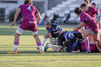 08/12/2018 - dalla ruck Giorgi Begadze - FF.OO. RUGBY VS RC LOCOMOTIVE TIBLISI - CONTINENTAL SHIELD - RUGBY