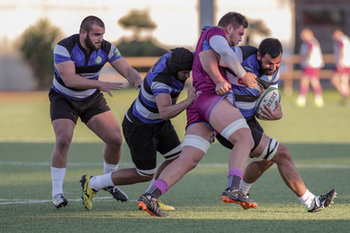 08/12/2018 - contrasto Bianchi vs Arabuli - FF.OO. RUGBY VS RC LOCOMOTIVE TIBLISI - CONTINENTAL SHIELD - RUGBY