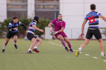 08/12/2018 - Andrea Bacchetti - FF.OO. RUGBY VS RC LOCOMOTIVE TIBLISI - CONTINENTAL SHIELD - RUGBY