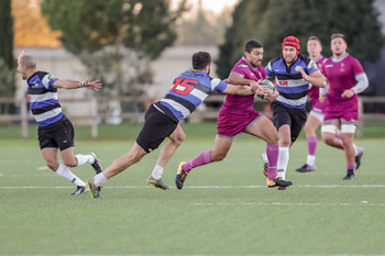 08/12/2018 - Simone Marinaro - FF.OO. RUGBY VS RC LOCOMOTIVE TIBLISI - CONTINENTAL SHIELD - RUGBY