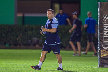 08/09/2018 - Coach del Cardiff Blues John Mulvihill - BENETTON TREVISO VS CARDIFF BLUES - GUINNESS PRO 14 - RUGBY