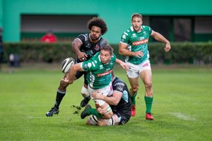 Off load di Marco Barbini - Benetton Treviso vs Ulster Rugby - GUINNESS PRO 14 - RUGBY