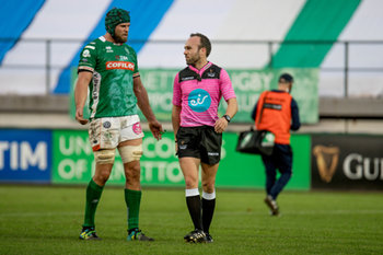 Arbitro Mike Adamson - Benetton Treviso vs Ulster Rugby - GUINNESS PRO 14 - RUGBY