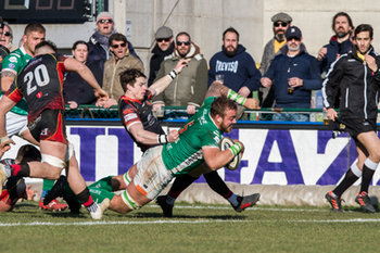 23/02/2019 - 20190223, Pro14, Guinness, Benetton Treviso Vs Newport Dragons, foto alfio guarise, Treviso, Stadio Stadio Monigo di Treviso - BENETTON TREVISO VS NEWPORT DRAGONS - GUINNESS PRO 14 - RUGBY