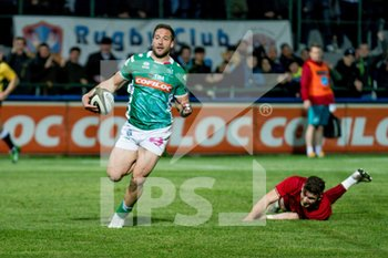 12/04/2019 - Tommaso Benvenuti - BENETTON TREVISO VS MUNSTER RUGBY - GUINNESS PRO 14 - RUGBY