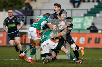 04/01/2020 - Tim Swinson (Glasgow) - BENETTON TREVISO VS GLASGOW WARRIORS - GUINNESS PRO 14 - RUGBY