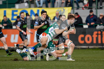 04/01/2020 - Tom Gordon (Glasgow) - BENETTON TREVISO VS GLASGOW WARRIORS - GUINNESS PRO 14 - RUGBY