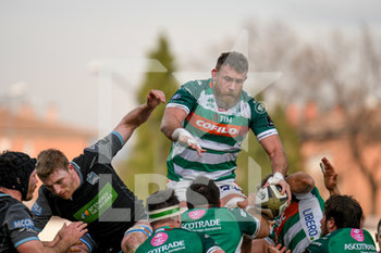 04/01/2020 - Irne Herbst (Treviso) - BENETTON TREVISO VS GLASGOW WARRIORS - GUINNESS PRO 14 - RUGBY