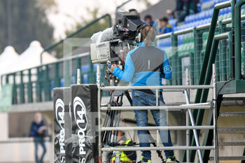 10/10/2020 - Dazn television operator - BENETTON TREVISO VS LEINSTER RUGBY - GUINNESS PRO 14 - RUGBY