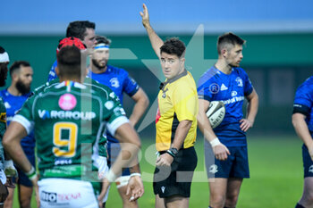 10/10/2020 - The referee of the match Ben Whitehouse (WRU) - BENETTON TREVISO VS LEINSTER RUGBY - GUINNESS PRO 14 - RUGBY