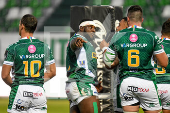 10/10/2020 - Cherif Traore (Treviso) - BENETTON TREVISO VS LEINSTER RUGBY - GUINNESS PRO 14 - RUGBY